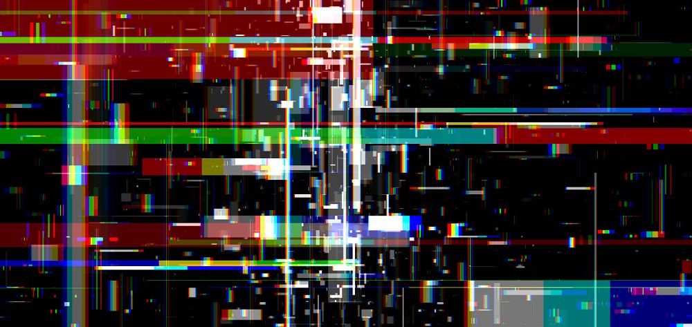 数据碎片科技感背景动画特效