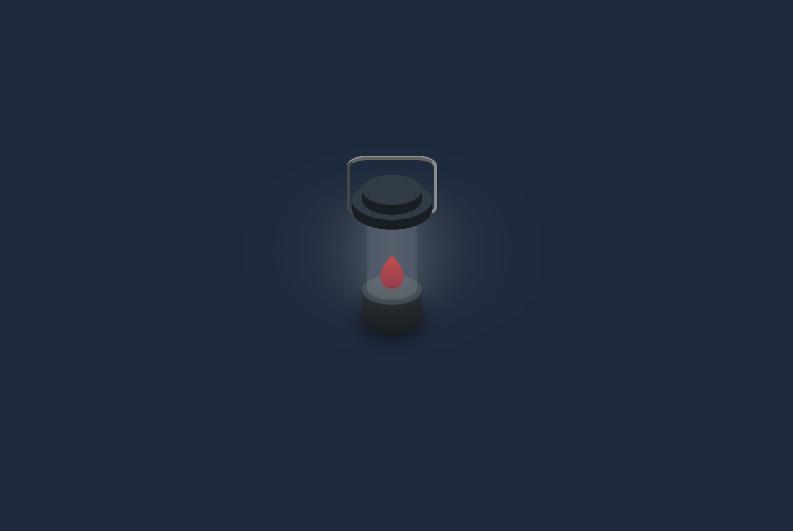 css火焰手提灯动画特效