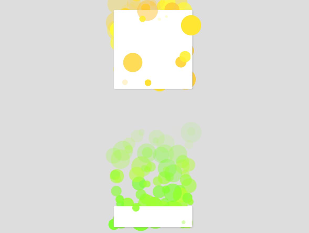 彩色的圆点冒泡写字板ui动画特效