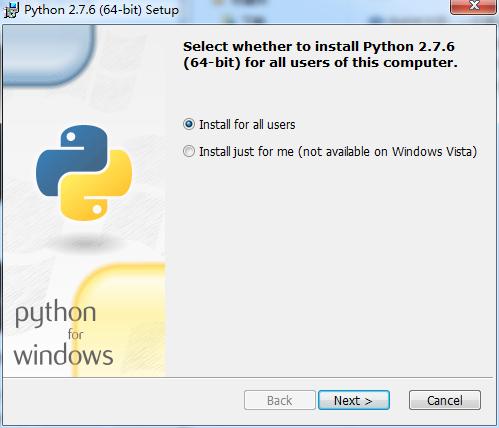 Python 2.7