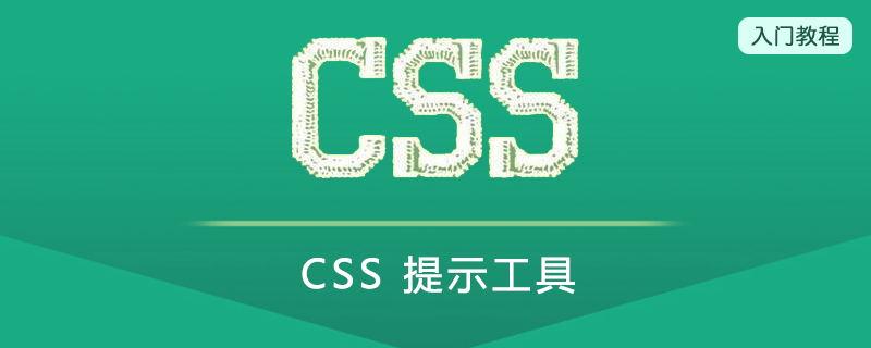 CSS 提示工具(Prompt Tool)