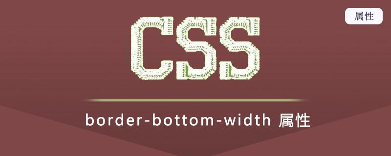 border-bottom-width