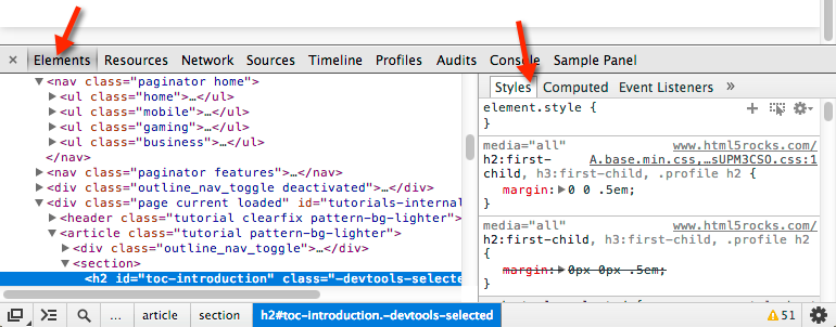 DevTools扩展API