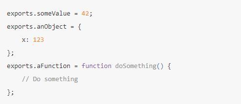 模块变量(module variables)