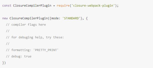 ClosureWebpackPlugin