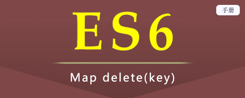 ES 6 Map delete(key)