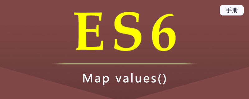 ES 6 Map values()
