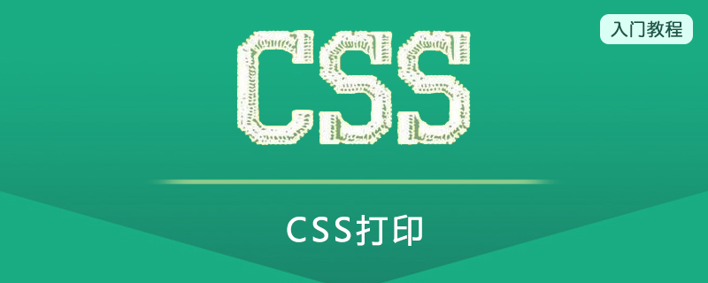 CSS打印(print)