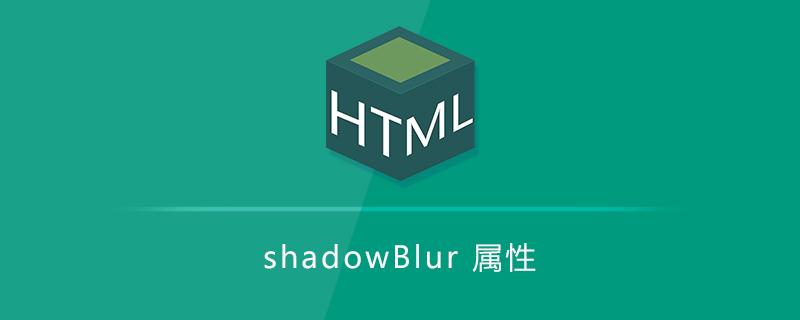 shadowBlur 属性