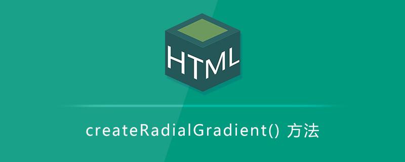 createRadialGradient() 方法