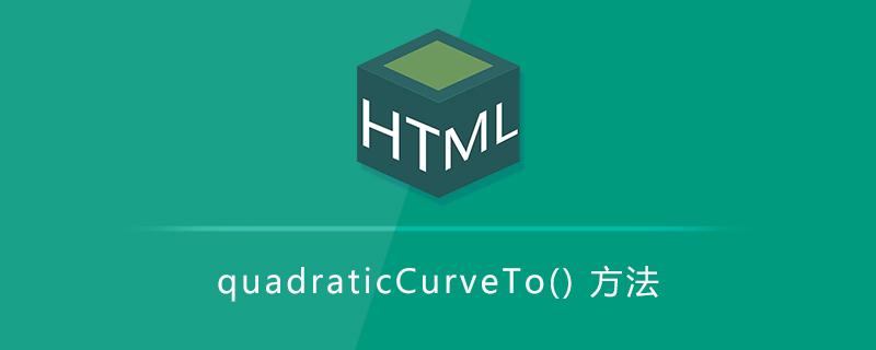 quadraticCurveTo() 方法