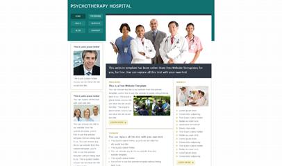 医学医院网站模板