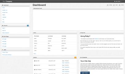 简洁Bootstrap后台管理模板