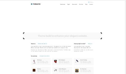 平面設計師工作室網站模板