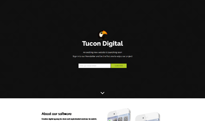 手机软件开发公司简单官网模板