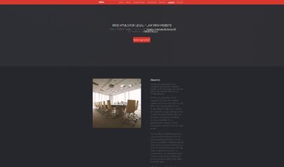 红色大气项目展示管理平台网页模板