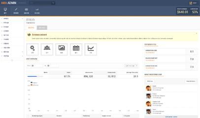 admin后台管理系统bootstrap模板下载