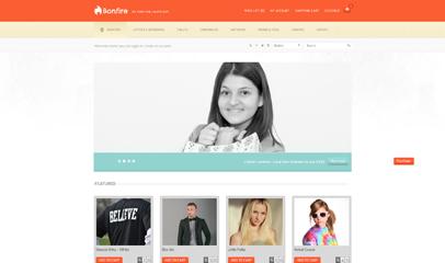 服装在线购物商城shop网页模板
