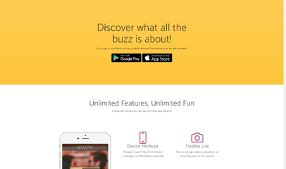 New app手機應用開發官網響應式模板