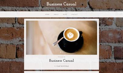 咖啡coffee休闲食品企业网站模板