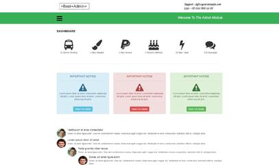 绿色best Admin 后台管理系统bootstrap