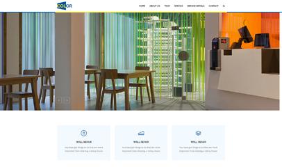 墙壁粉刷公司网站模板