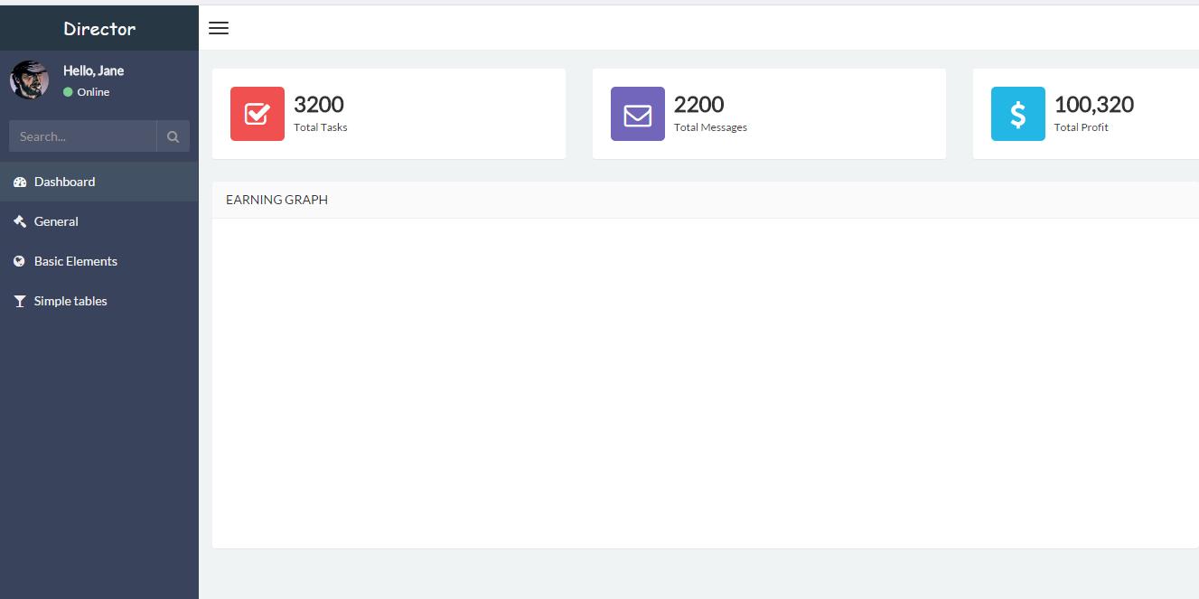 Director精品bootstrap后台UI管理系统模板