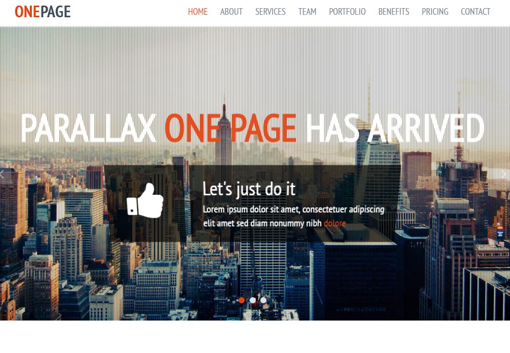 大气蓝色网站设计公司响应式模板