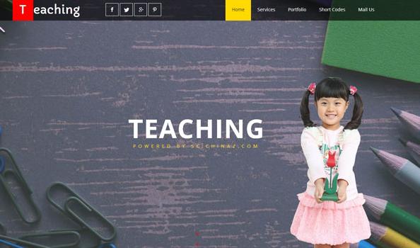 国际婴幼儿启育机构网站模板