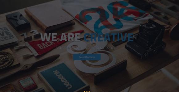 彩色超大气衣服印刷公司网站模板