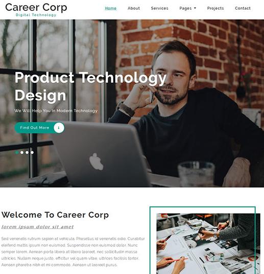 服裝設計工作室網站模板
