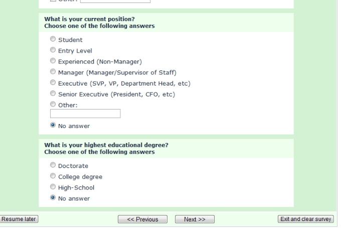 LimeSurvey在线问卷管理系统