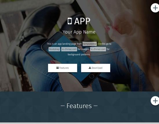 精品手机软件商官网网站模板