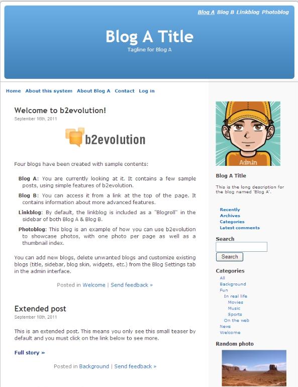 v6.10.1b2evolution博客系统