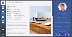 HTML5响应式个人博客网站模板