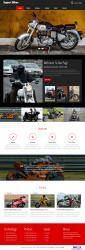 摩托车俱乐部网站模板