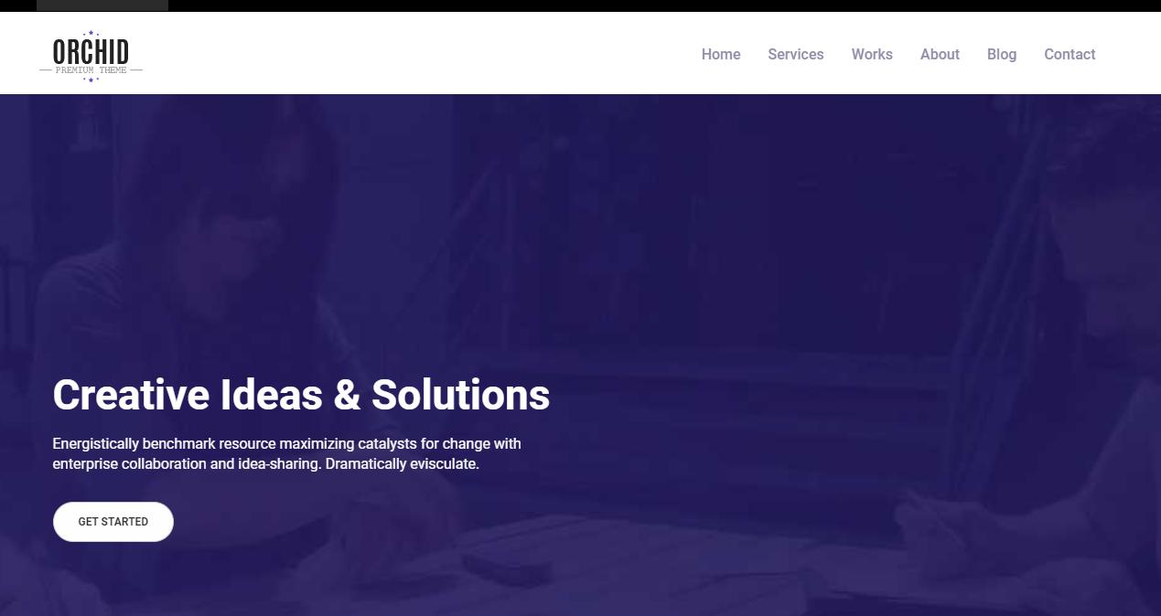 響應式企業網站模板