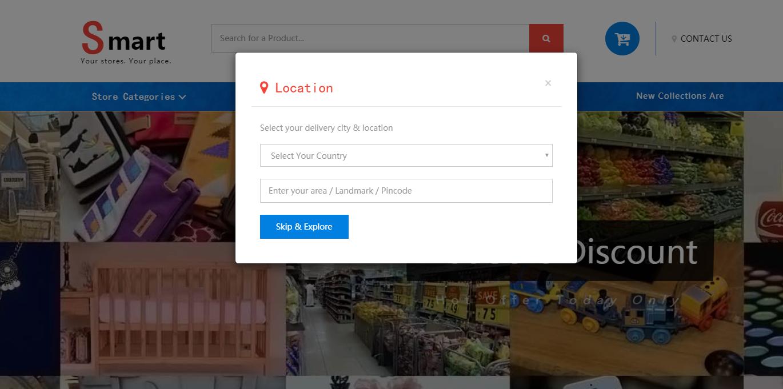 jQuery Bootstrap响应式购物商城模板