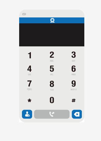 网页版拨号界面效果
