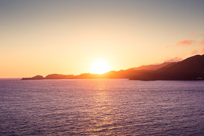 夕阳高清图片素材