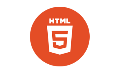 圆形HTML5标志