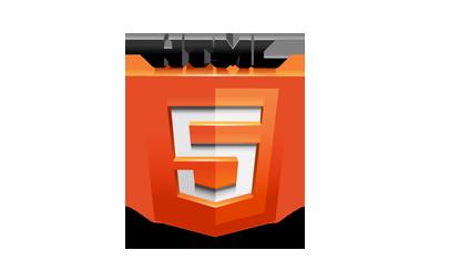 立体HTML5标志