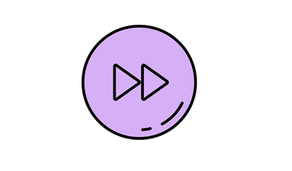 紫色手绘按钮